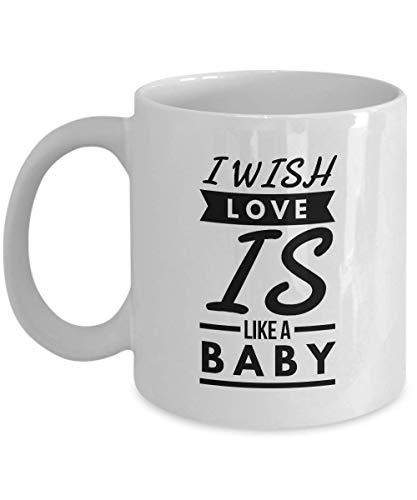 KUKUZCOQ Cooinle Lover Mug I Wish Love is Like A Baby Shampoo It Has No More Tears Formula Gift Idea for Relationship Wedding Anniversary Married Cooinles 11 O