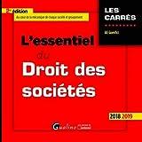 Lire le livre L'essentiel droit des sociétés gratuit