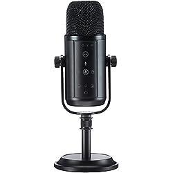 AmazonBasics Microphone professionnel USB à condensateur, Noir