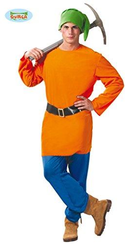 Zwerg - Kostüm für Herren Gr. M/L, Größe:L