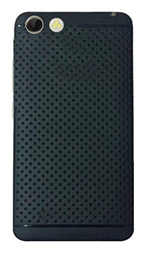 Panasonic P55 Novo Soft Dotted Rubberised Back Case Cover with Premium Quality(For Panasonic P55 Novo)