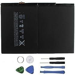 Batterie interne de remplacement 8827mAh Li-Ion pour iPad Air 5A1484A1474A1475avec outils de réparation inclus