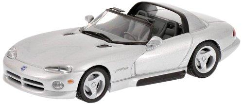 minichamps-430144034-modellino-auto-dodge-viper-cabrio-1993-silver-scala-1-43