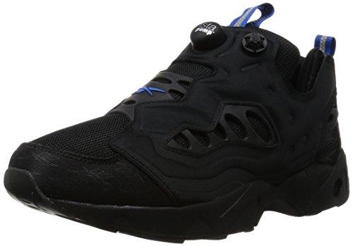 Reebok Instapump Sapatos Estrada Fúria Sapatilhas Novo Preto