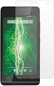 Intex Aqua HD 5.0 / Intex Aqua HD Kavacha ™ Premium Series Tempered Glass With Smooth Touch 2.5D Curved Edge 0.3mm thin 9H Hardness: High Quality High Definition Toughened Screen Protector