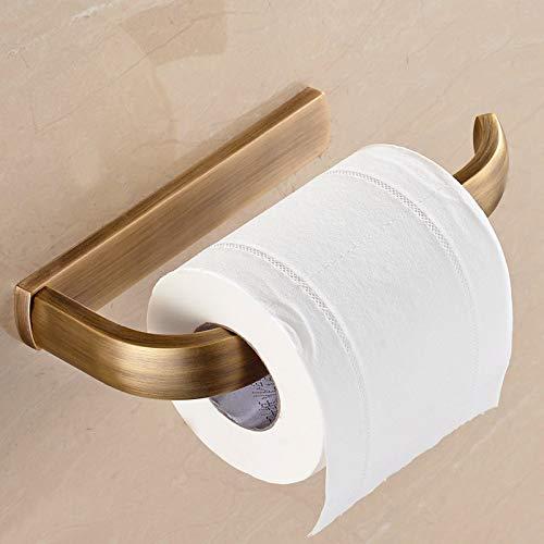 PajCzh Europäischen Stil Kupfer papierhandtuchhalter papierhandtuchToilette Gold Rolle papierhalter papierhandtuchkorb Bad antike toilettenpapierhalter handschale, A, 3