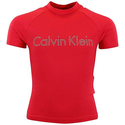 Calvin Klein Girl's Rash Guard Shirt T-Shirt
