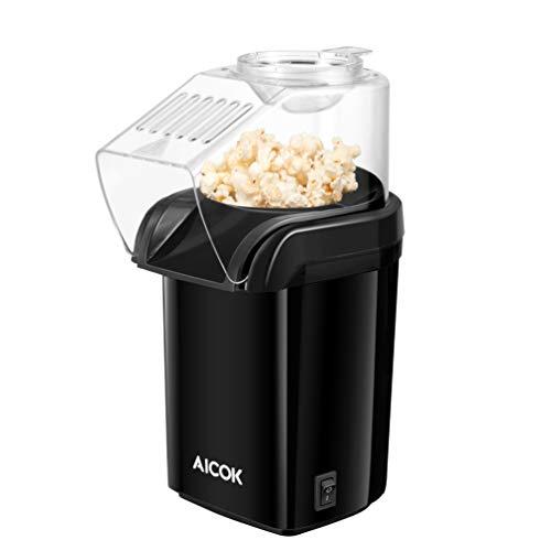 Aicok Machine à Pop Corn, Popcorn Popper à Air Chaud...