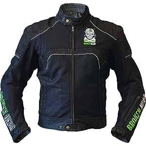 XL Aramid Motorrad-Jacke Mit Abnehmbarer Kapuze Wasserdicht /& Atmungsaktiv Broken Head Made2Rebel Motorrad-Hoodie