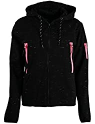 Geographical Norway Sudadera con Cierre Fashionista Negro XL (FR 4)