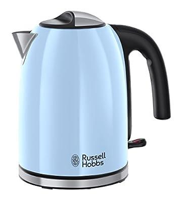 Russell Hobbs 20417-70 Colours Plus Bouilloire Bleu/Noir 1,7 L 2400 W