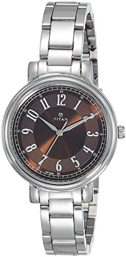 Titan Ladies Neo-I Analog Brown Dial Women's Watch-2554SM02 image