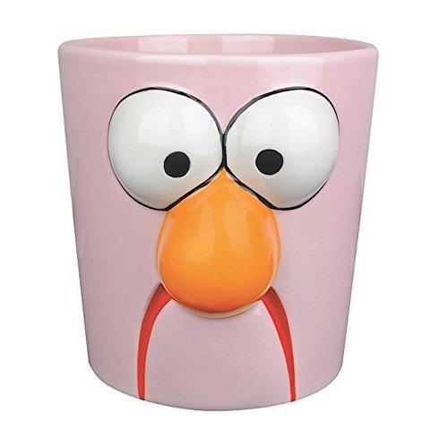Muppets - Vaso con motivo di Beaker tratto dal Muppet Show - Altezza 10cm- Viola