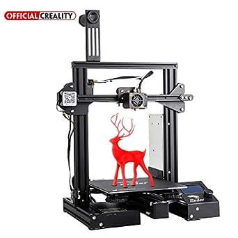 Offizieller Creality 3D-Drucker Ender 3 Pro mit magnetischem Wärmebettaufkleber und UL-zertifiziertem Netzteil