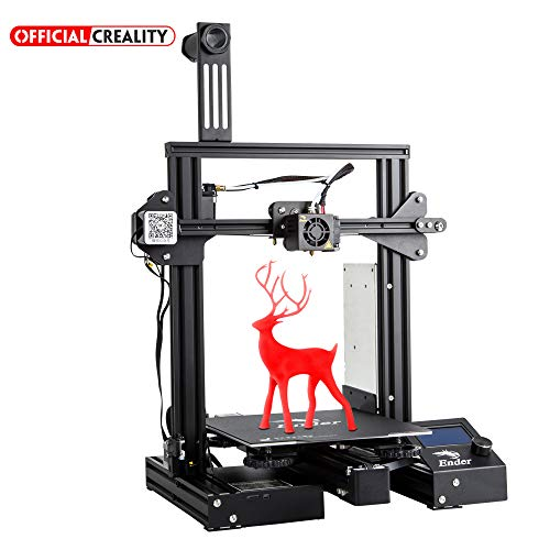 Official Creality 3D Printer Ender 3 Pro with Magnetic Heat Bed Sticker and UL Certified Power Supply