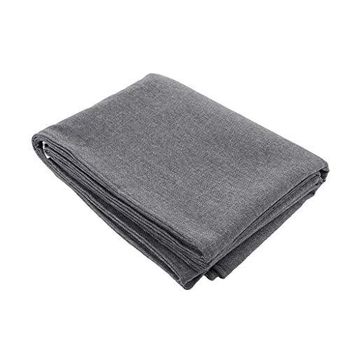 Tubayia Leinen Bettläufer Bett Läufer Schal für Hause Hotel Schlafzimmer Dekoration -