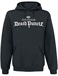Five Finger Death Punch War Is The Answer Sudadera con Capucha Negro