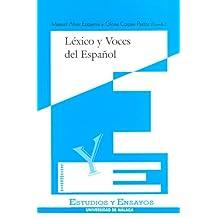 Léxico y voces del español (Estudios y Ensayos)