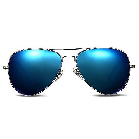 Sonnenbrille Mens Fashion Driving Gläser für Outdoor-Sport Running Surfing Angeln Golf mit Fall -UV400 (Hip Hop Mode Sonnenbrillen)