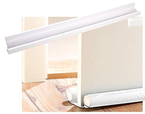 infactory Zugluft-Stopper für Türen bis 60 mm Dicke, weiß