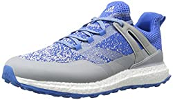 adidas Mens Crossknit Boost Clonix/Bl Golf Shoe, Clear Onix, 7 M US
