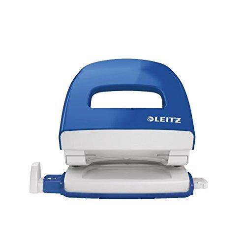 Leitz 50080035 Bürolocher NeXXt, Metall, 30 Blatt, blau