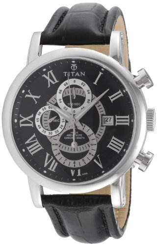 41tCFm4LjeL - Titan NE9234SL02J Classique Chronograph Mens watch