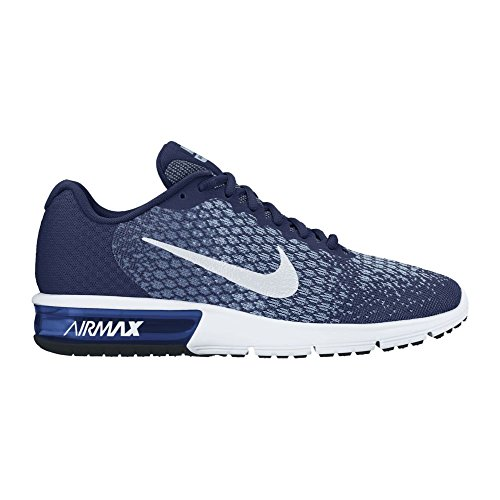 Nike Herren Air Max Sequent 2 Laufschuhe Binary Blue/White-blue Moon