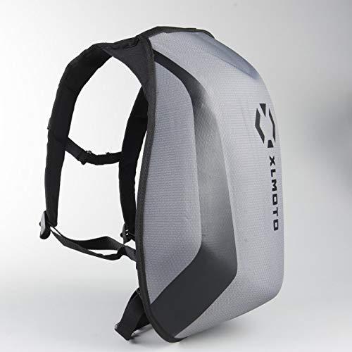 xlmoto Zaino Moto Slipstream Resistente all\'Acqua 24L (Grigio)