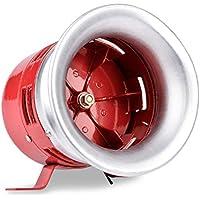 BAOSHISHAN Motor Driven Air Raid Siren Horn para industria Lucha contra incendios Alarma de seguridad de emergencia