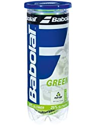 Play And Stay Green Felt Tennis Balls by Babolat