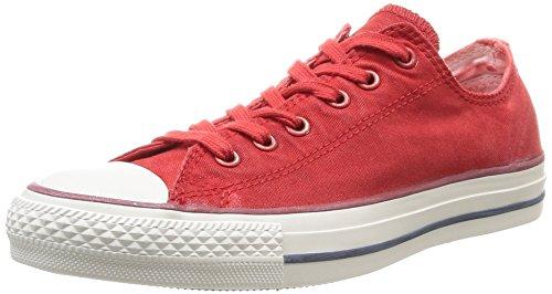 Converse Chuck Taylor All Star Wash Ox, Unisex - Erwachsene Sneaker Orange - Orange