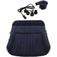 SUV–Colchón hinchable con bomba de aire/Heavy Duty hinchable colchón coche cama para SUV camioneta asiento trasero extendida mattress-mobile cama de aire inflable cojín dedicado para dormir resto y íntimo movimiento