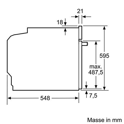 Neff BCR4522N Backofen Elektro / A+ / 71 L / mit 12 Beheizungsarten / Edelstahl - 11