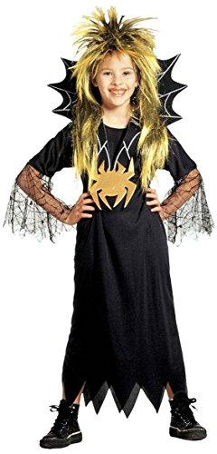Kinder-Kostüm-Set Kleine Spinnenfrau, Größe (Kostüm Spider Frau Kind)