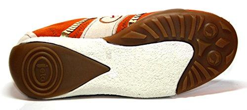 Jela , Chaussures de ville à lacets pour fille Orange (orange/offwhite)
