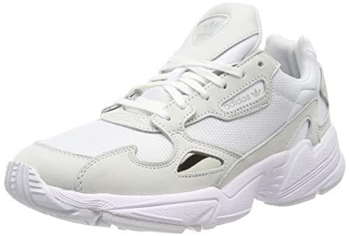 adidas Falcon W, Zapatillas para Mujer, FTWR Crystal White B28128, 37 1/3 EU