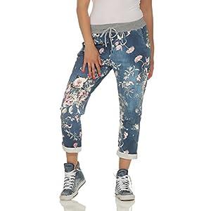 cleostyle Damen Jogginhose im Boyfriend-Style Sweatpants für Freizeit Sport und Fitness 9-2