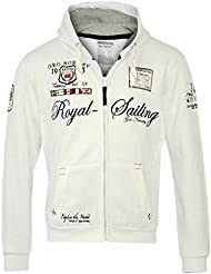 GEOGRAPHICAL NORWAY Hombre Diseñador Capucha Chaqueta - FIGHTER -