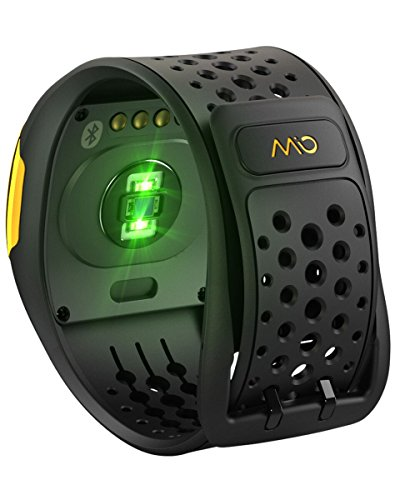 Mio Alpha 2 Heart Rate Monitor Yellow Size: M/L