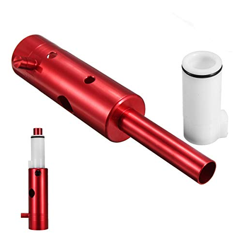 Unbekannt Paintball Custom Aluminium Power 98 Red Tube mit Upgrade Derlin Bolt für Tippmann COD