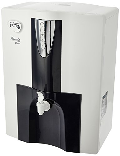 HUL Pureit Marvella RO + UV 10-Litre Water Purifier (Grey with Blue)