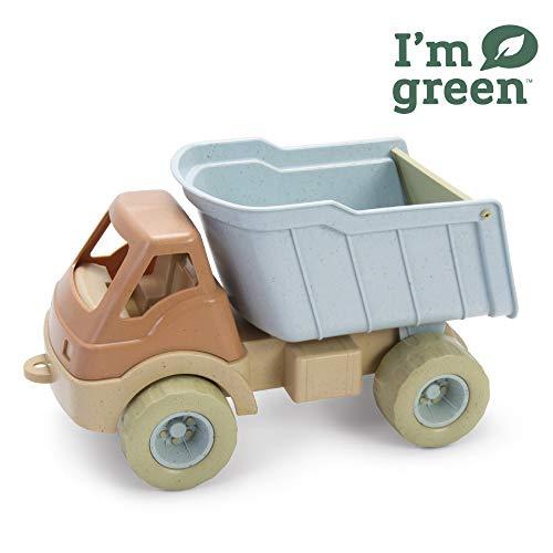 Dantoy - Bio Juguete camión remolcador, juguetes respetuosos con el medio ambiente hechos de caña de azúcar