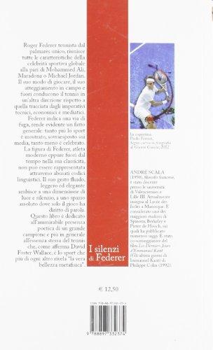 b87c50fc20799 Libro I silenzi di Federer di André Scala