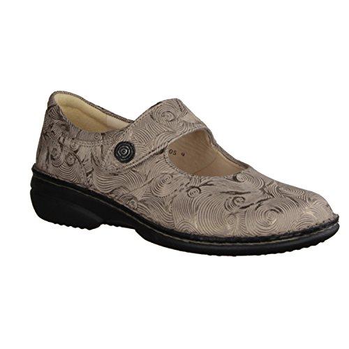 Finn Comfort Bardolino 390023 - Zapatos de Cordones de Piel Para Hombre Marrón Marrón uwxz3