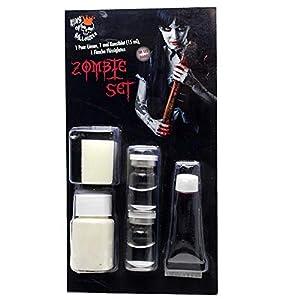 Kit de Zombi con lentillas