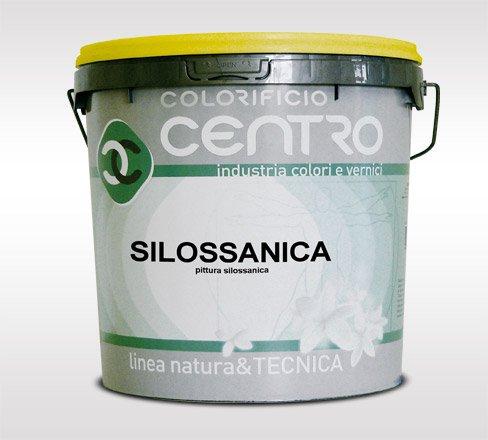 Pittura traspirante esterno -colorificio centro - silossanica lt.14