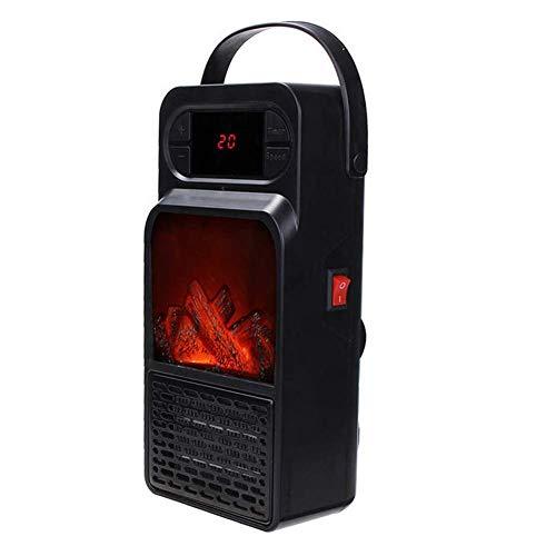 Calentador personal calentador ventilador eléctrico portátil con tecnología de cerámica térmica...