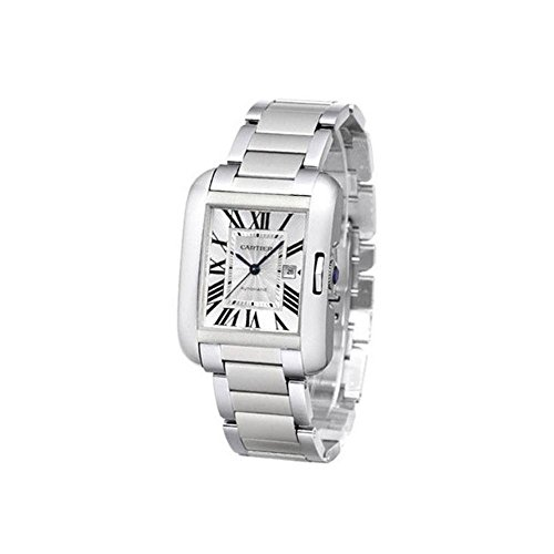 Cartier Men's W5310009 Analog Display Automatic Self Wind Silver Watch