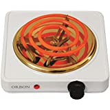 ORBON 1250 Watt With Thermostat G Coil Stove Hot Plate Induction Cooktop/Induction Cookers/Electric Cooking Heater/Induction Radient Cooktop (Made In India)(Huge Diwali Discount & Free Shipping)
